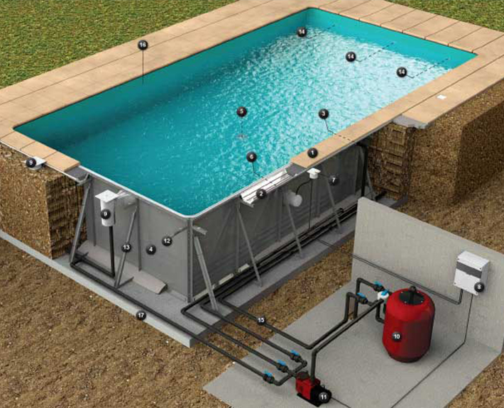 Piscinas e spas for Construir piscina economica